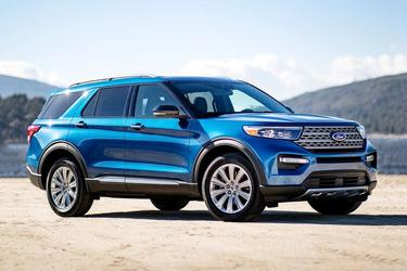 2020 Ford Explorer XLT SUV Slide 0