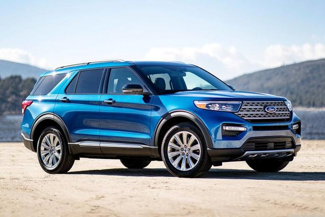 2020 Ford Explorer LIMITED 4D Sport Utility Slide 0