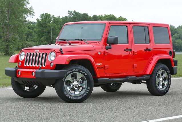 2018 Jeep Wrangler Jk Unlimited SPORT S SUV Slide 0
