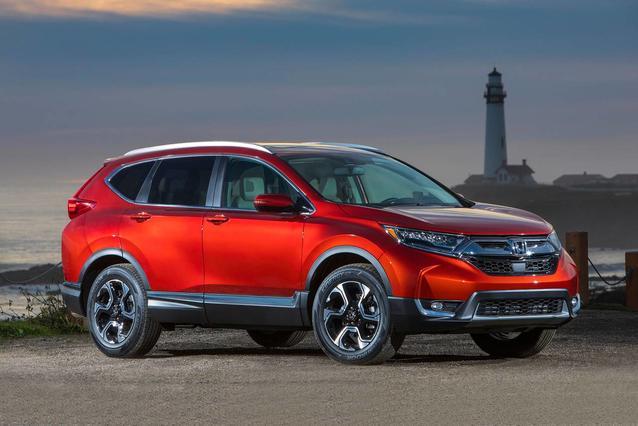 2018 Honda Cr-V EX-L SUV Slide 0