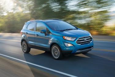 Smoke Metallic 2020 Ford EcoSport S SUV  VA