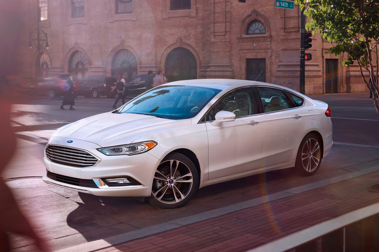 2018 Ford Fusion TITANIUM 4dr Car Slide 0