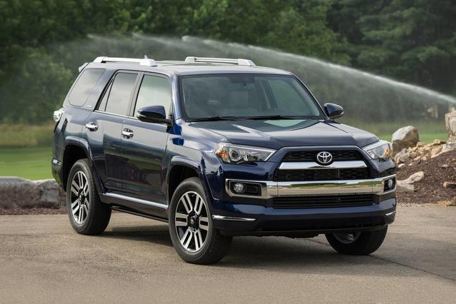 2019 Toyota 4Runner LIMITED Slide 0