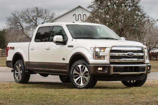 2017 Ford F-150 XL Crew Pickup Slide 0