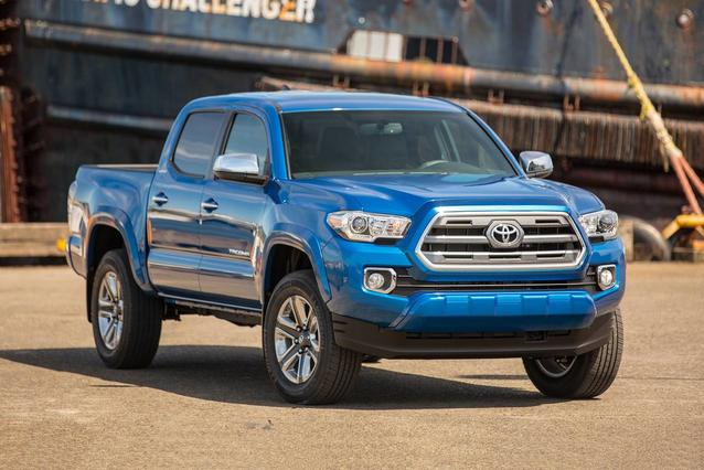 2019 Toyota Tacoma 2WD TRD SPORT Crew Cab Pickup Slide 0