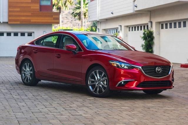2017 Mazda Mazda6 TOURING 4dr Car Slide 0