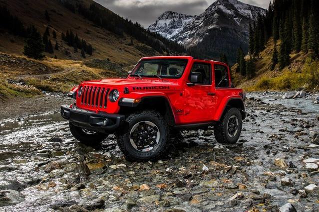 2018 Jeep Wrangler SPORT S Convertible Slide 0