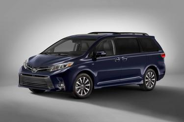 2020 Toyota Sienna XLE XLE FWD 8-PASSENGER Mini-van, Passenger Slide
