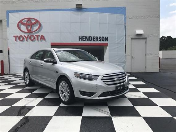 2018 Ford Taurus LIMITED Slide 0
