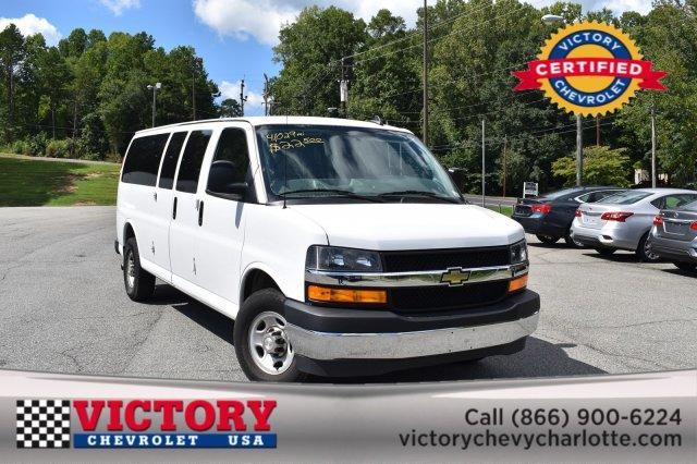 2018 Chevrolet Express Passenger LT Full-size Passenger Van Slide 0