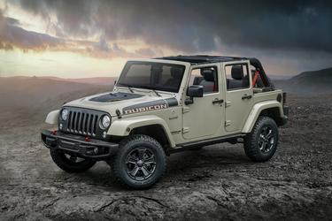 2017 Jeep Wrangler SAHARA Convertible Slide