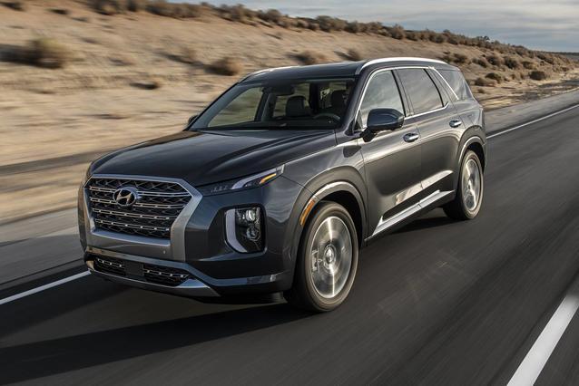 2020 Hyundai Palisade LIMITED SUV Slide 0