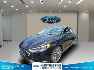 Shadow Black 2018 Ford Fusion SE 4dr Car Huntington NY