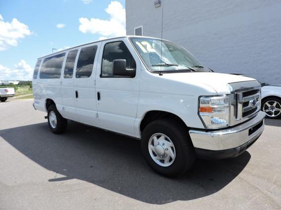 2012 Ford Econoline Wagon XLT Full-size Passenger Van Slide 0