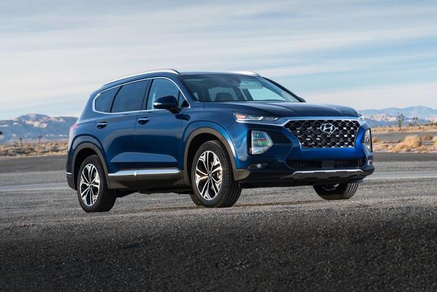 2020 Hyundai Santa Fe LIMITED 2.4 SUV Slide 0
