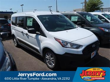 Frozen White Metallic 2020 Ford Transit Connect XL Full-size Passenger Van Alexandria VA
