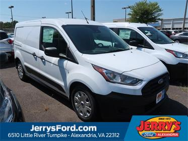 Frozen White Metallic 2020 Ford Transit Connect XL Mini-van, Cargo Alexandria VA