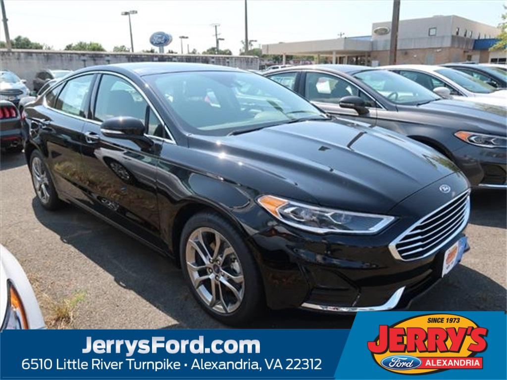 2019 Ford Fusion SEL 4dr Car Slide 0
