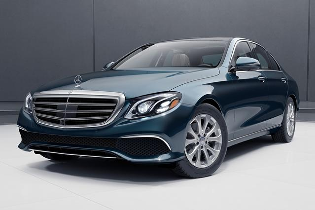 2017 Mercedes-Benz E-Class E 300 LUXURY Sedan Slide 0
