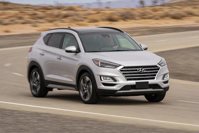 2020 Hyundai Tucson SEL SUV Slide 0