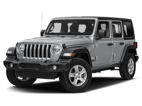 2020 Jeep Wrangler Unlimited SAHARA Convertible Slide 0