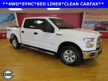Oxford White 2017 Ford F-150 XLT Crew Cab Pickup Manassas VA
