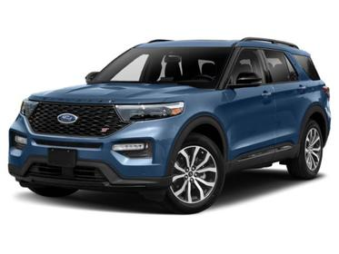 Blue Metallic 2020 Ford Explorer ST SUV Huntington NY
