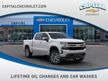 Summit White 2019 Chevrolet Silverado 1500 LT Wake Forest NC