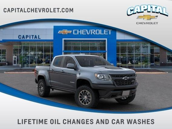 2020 Chevrolet Colorado ZR2 Crew Cab Pickup Slide 0