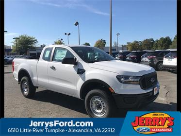 Oxford White 2019 Ford Ranger XL Extended Cab Pickup  VA