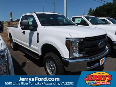 Oxford White 2019 Ford F-250SD XL Extended Cab Pickup Alexandria VA