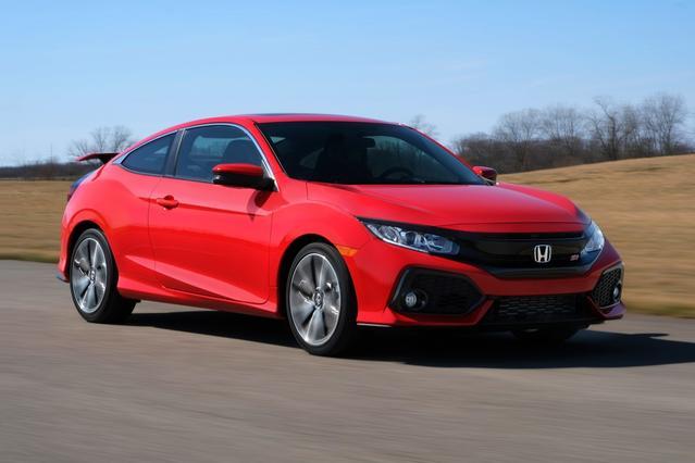 2017 Honda Civic Coupe SI 2dr Car Slide 0