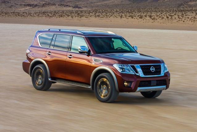 2018 Nissan Armada PLATINUM SUV Slide 0