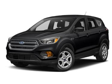 Agate Black Metallic 2019 Ford Escape TITANIUM SUV Huntington NY