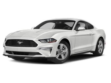 Oxford White 2019 Ford Mustang EcoBoost 2dr Car Huntington NY
