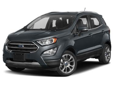 Smoke Metallic 2019 Ford Ecosport TITANIUM SUV Huntington NY