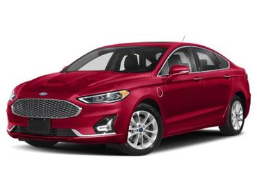 Rapid Red Metallic Tinted Clearcoat 2020 Ford Fusion Energi TITANIUM 4dr Car Huntington NY