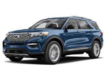 Blue Metallic 2020 Ford Explorer PLATINUM SUV Huntington NY