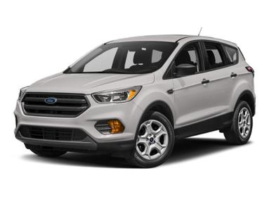 White Platinum Metallic Tri-Coat 2019 Ford Escape SE SUV Huntington NY