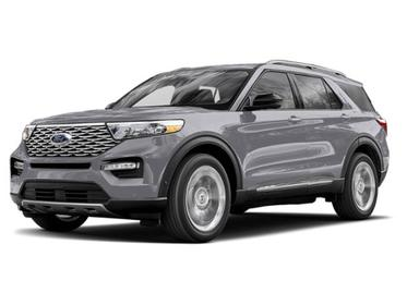 Iconic Silver Metallic 2020 Ford Explorer PLATINUM SUV Huntington NY