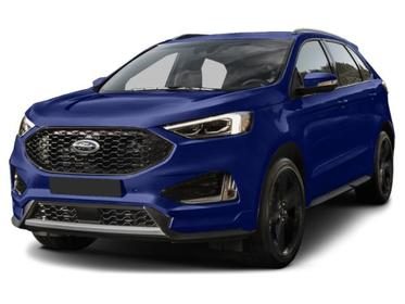 Ford Performance Blue Metallic 2019 Ford Edge ST SUV Huntington NY