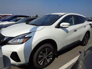 Pearl White Tricoat 2020 Nissan Murano S Sport Utility  NC