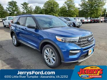 Blue Metallic 2020 Ford Explorer XLT Sport Utility  VA