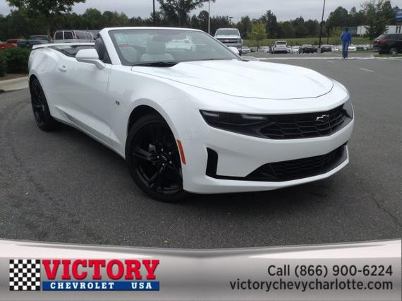 2020 Chevrolet Camaro 1LT Convertible Slide 0
