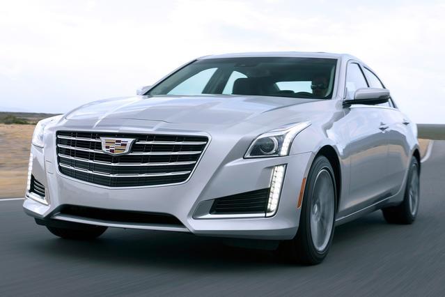 2017 Cadillac CTS Sedan V-SPORT PREMIUM RWD Sedan Slide 0