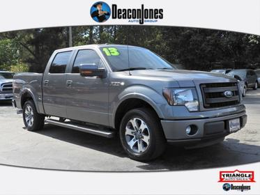 Sterling Gray Metallic 2013 Ford F-150 2WD SuperCrew 145 FX2  NC