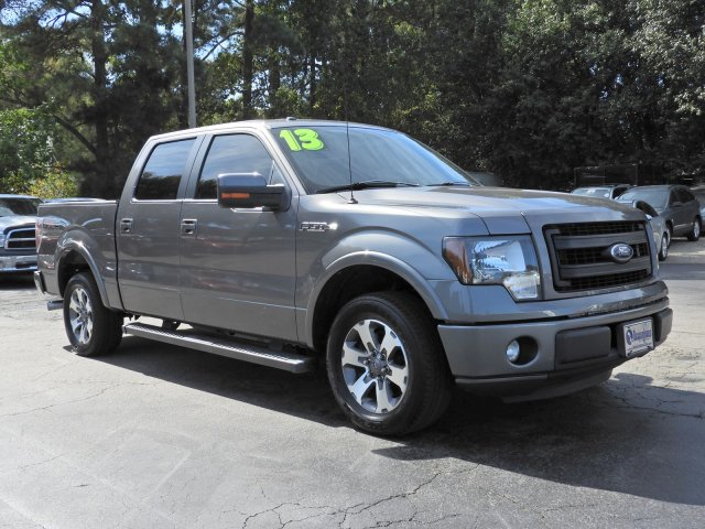 2013 Ford F-150 FX2 Crew Cab Pickup Slide