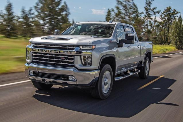 2020 Chevrolet Silverado 2500HD WORK TRUCK Crew Cab Pickup Slide 0