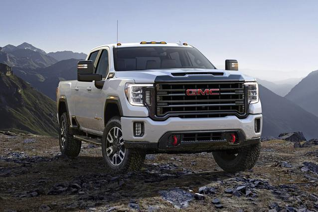 2020 GMC Sierra 2500HD AT4 Crew Cab Pickup Slide 0