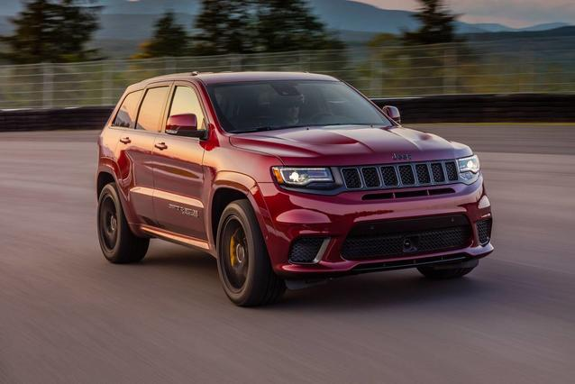 2020 Jeep Grand Cherokee TRAILHAWK SUV Slide 0